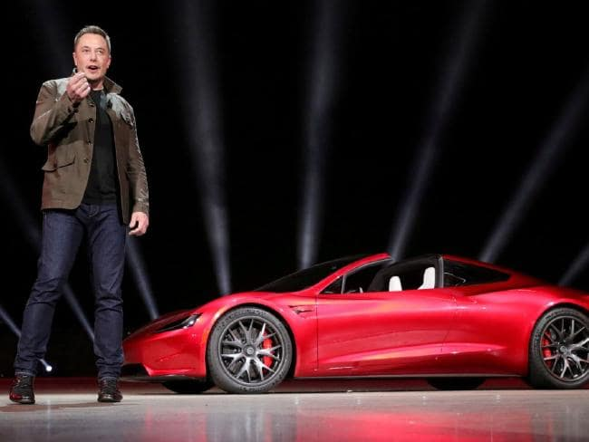 Until recently, Tesla investors and employees bought into Musk's inspired vision, but that faith is now beginning to erode. Picture: Reuters