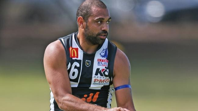 Chris Yarran in action for Swan Districts' reserves last year. Picture: Daniel Wilkins